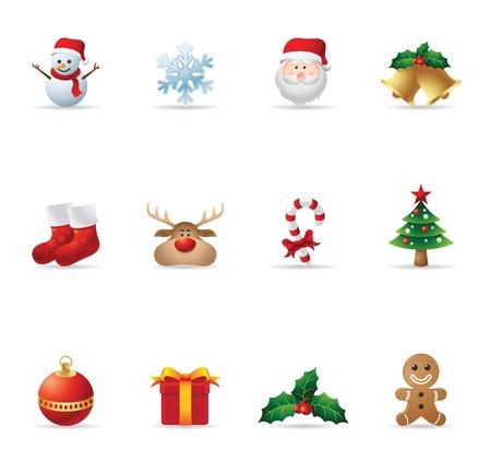 caramelos navidad: Iconos Web - Navidad Vectores