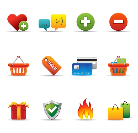 Web Icons - Ecommerce Vector