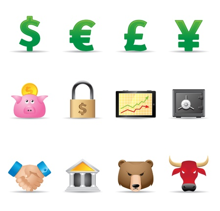 Web Icons - Finance Vector