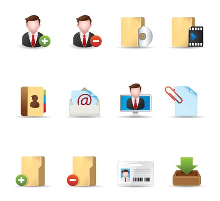 Web Icons - Group collaboration Vector