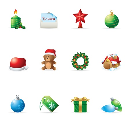 Web Icons - More Christmas Vector