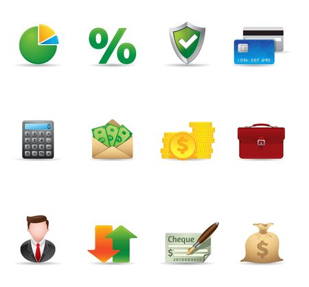 Web Icons - More Finance Illustration