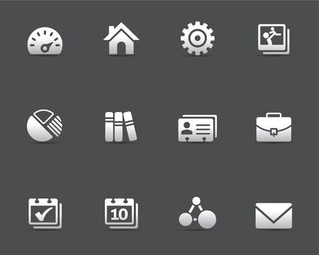 contact book: Iconos Web Universal