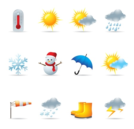 Web Icons - Weather Stock Vector - 11312006