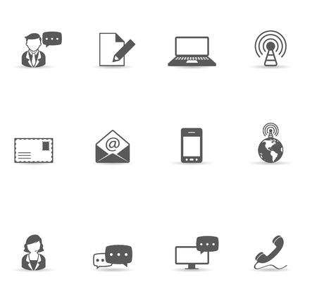 communicatie: Communicatie icoon serie. Kaart Bron: http:www.lib.utexas.edumapsworld_mapsworld_rel_803005AI_2003.jpg