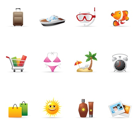 snorkel: Web Icons - More Travel