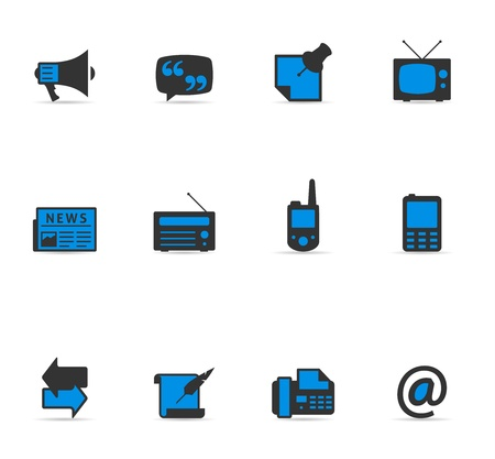 Duotone Icons - More Communication Vector