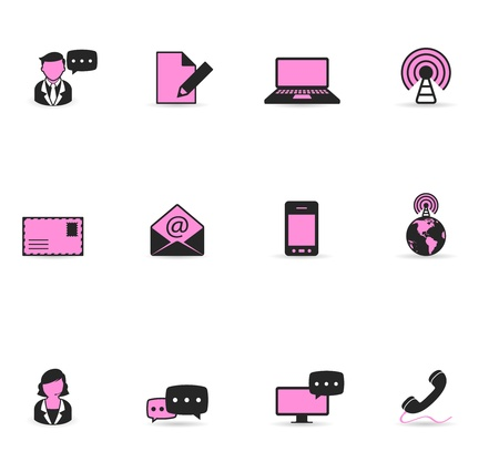 Duotone Icons - Communication Vector