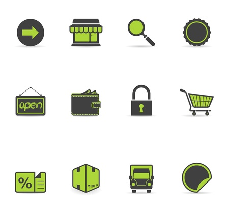 Duotone Icons - More Ecommerce Vector