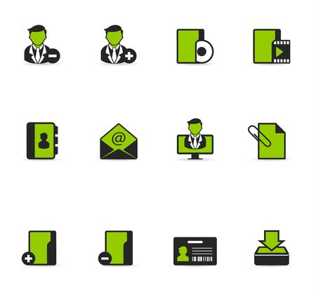 Duotone Icons - Group Collaboration Vector
