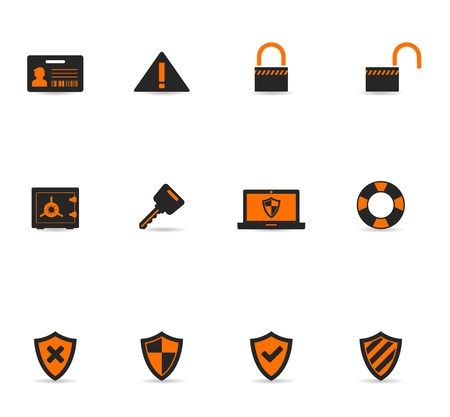 Duotone Icons - Security Stock Vector - 12495465