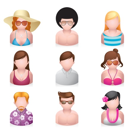 avatar: People Icons - Beach