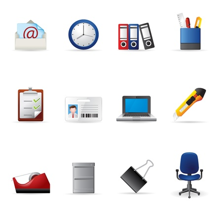 writing chair: Web Icons - More Office