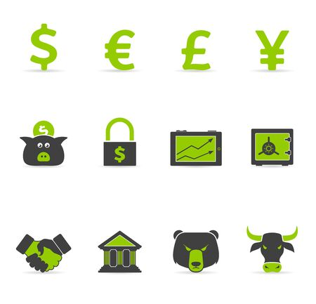 Duotone Icons - Finance Vector