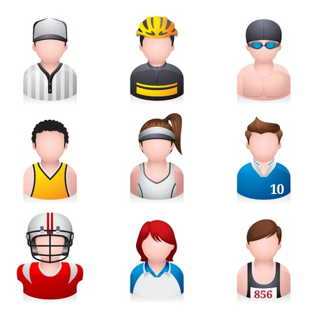 Sport people icon Vector