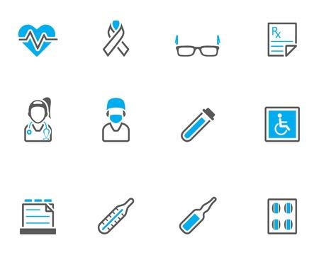 chirurgo: Medical serie icona in stile colore tono duo.