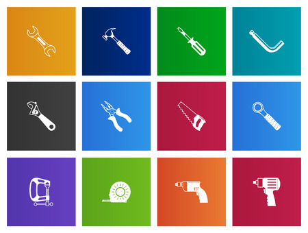 the series: Hand tools icons series in Metro style