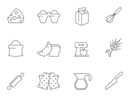 Baking icons Incolor kringen.
