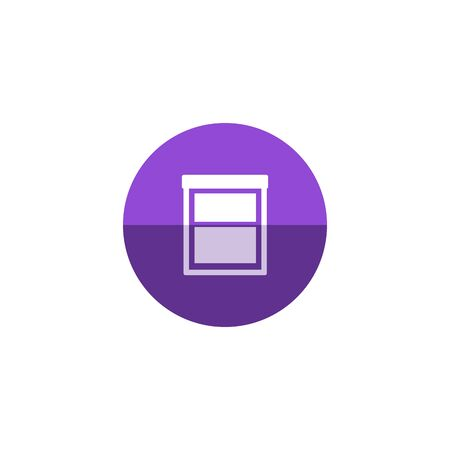 office cabinet: Office cabinet icon in flat color circle style. Files document information