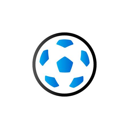 Football icon in duo tone color. Sport American team
