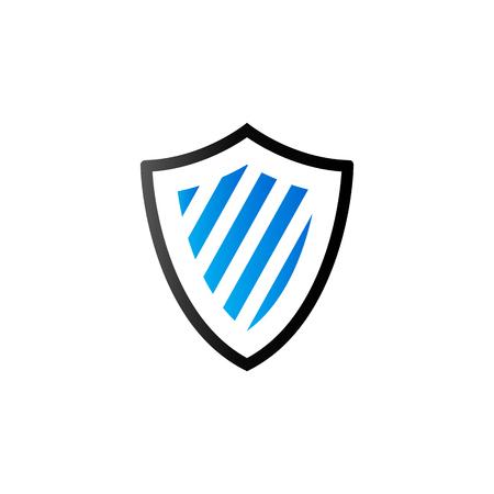 duo tone: Shield icon in duo tone color. Protection computer antivirus