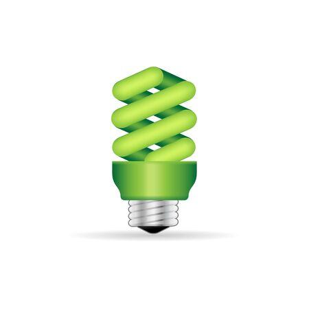 website buttons: Light bulb icon in color. Idea inspiration light Illustration