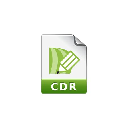 painting: Drawing file format icon in color. Illustration painting vector