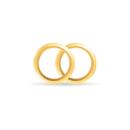 fiancee: Wedding ring icon in color. Illustration