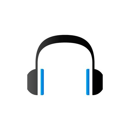 communication icons: Headset Audio icon in duo tone color.
