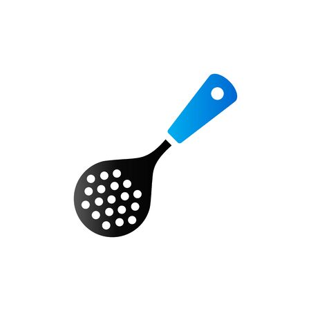 Spatula icon in duo tone color. Cooking utensil kitchen household Illustration