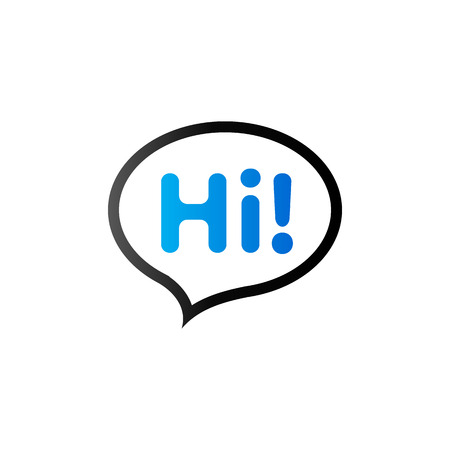 comic duo: Chatting icon in duo tone color. Text bubbles communication greeting