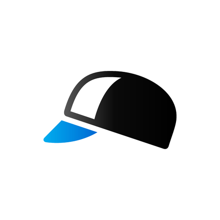 head protection: Cycling hat icon in duo tone color. Sport bicycle head protection Illustration