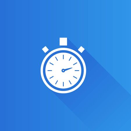 competitions: Stopwatch icon in Metro user interface color style. Speed time deadline
