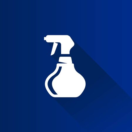 Sprayer icon in Metro user interface color style. Laundry cleaning fragrance perfume Illustration