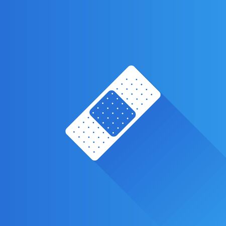 mobile phone icon: Bandage icon in Metro user interface color style. Healthcare medical first aid