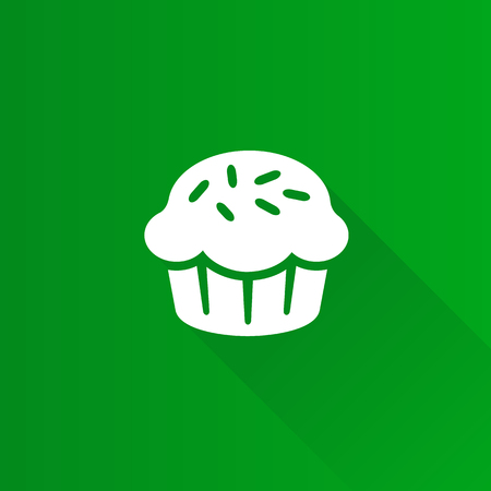 telephone: Cake icon in Metro user interface color style. Food sweet delicious Illustration