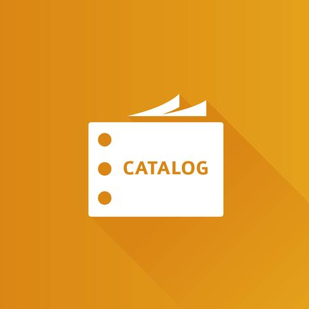 shadow: Catalog icon in Metro user interface color style.