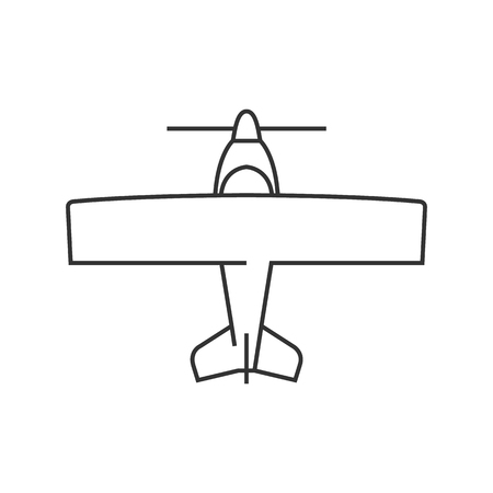 World War icon in thin outline style.