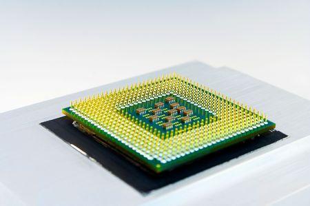 CPU on cooler