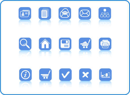 Miscellaneous raster web icons. Vector version is available in my portfolio