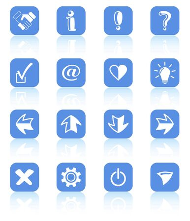 Miscellaneous signs raster iconset. Vector version is available in my portfolio Vector