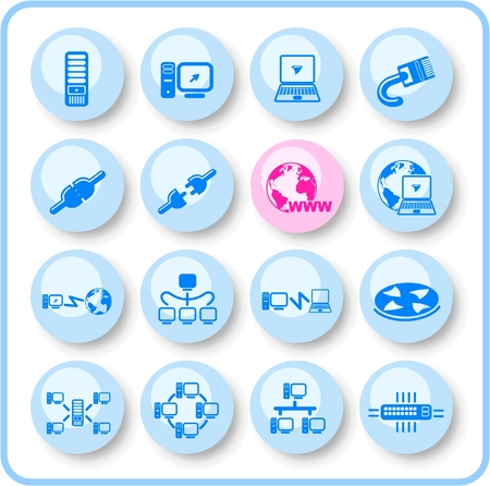 isp: Network raster iconset. Vector version is available in my portfolio