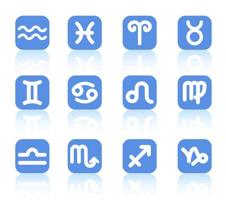 fortunetelling: Zodiac raster iconset. Vector version is available in my portfolio