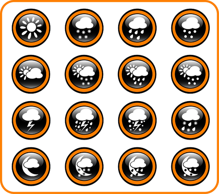 hail: Weather raster iconset. Vector version is available in my portfolio