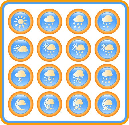 hailstorm: Weather raster iconset. Vector version is available in my portfolio