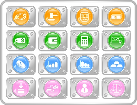 Money raster iconset. Vector version is available in my portfolio Vector