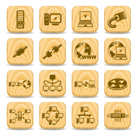 isp: Network vector iconset