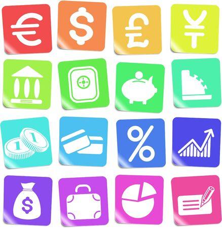 Money vector iconset Zdjęcie Seryjne - 5169819