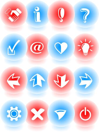 Miscellaneous signs vector iconset Vector