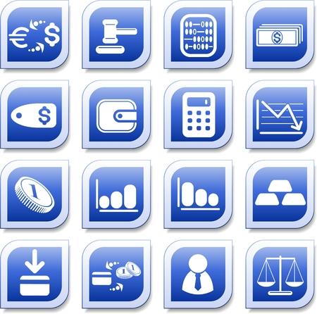 Money vector iconset Zdjęcie Seryjne - 5640938